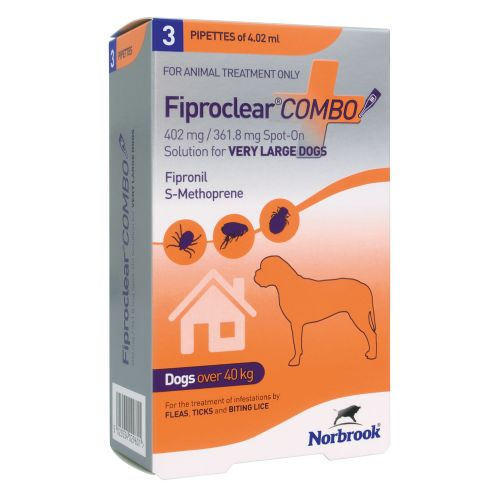 Fiproclear   Combo - For Very Large Dogs - over 40kg  - 3 pack